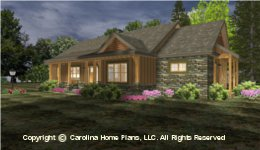 SG-1688 Small House Plan