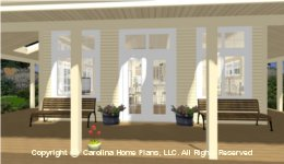 SG-576 House Plan with Porches
