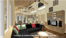 SG-980  1 Story Open House Plan