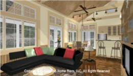 SG-980 Small Open Floor Plan