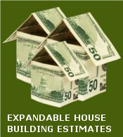 Expandable House Plan Building Estimates