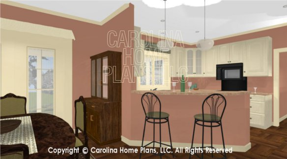 3d images for chp bs 1266 1574 ad small expandable 3d for Dining room 3d view
