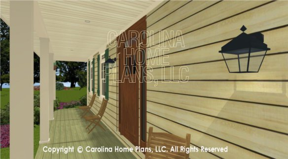 BS-1266-1574 3D Front Porch