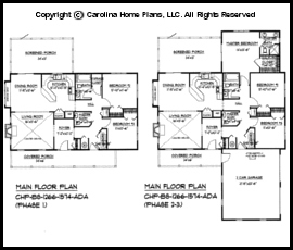 BS-1266-1574 Main Floor Plan