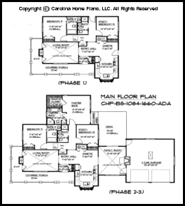 BS 1084 1660 Main Floor Plan