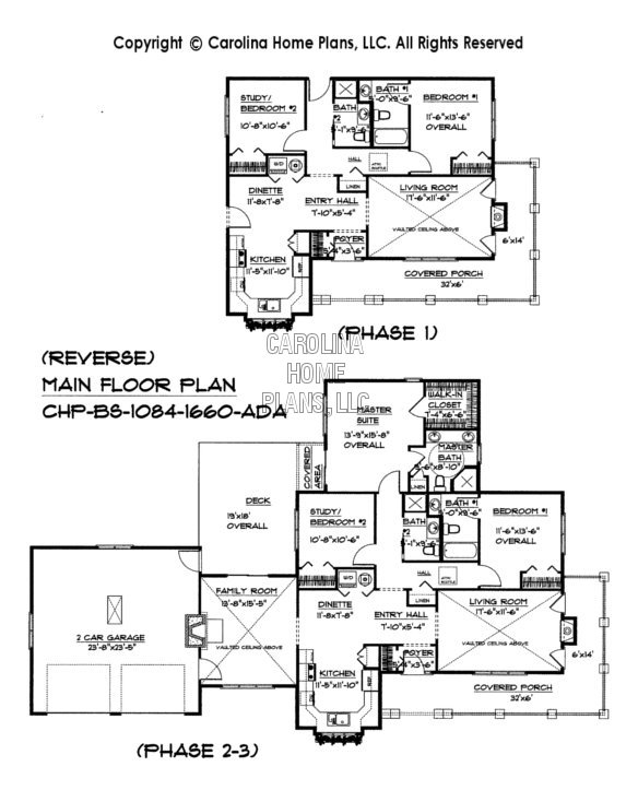 BS-1084-1660 Reverse Main Floor Plan