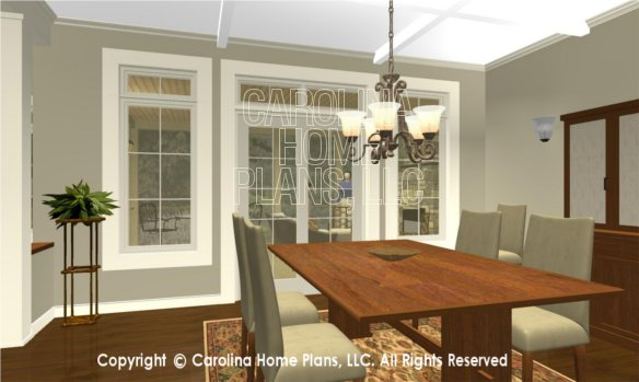 BS-1477-2715 3D Dining to screened porch