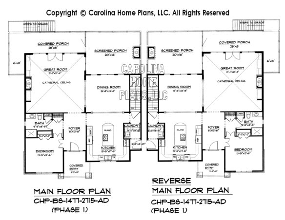 BS-1477-2715 Main Floor Plans
