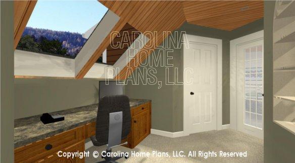 BS-1613-2621 3D Loft Office to Bedroom