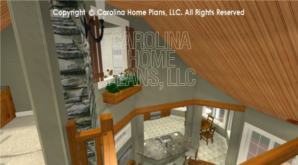 BS-1613-2621 3D Loft Window Planter and Kitchen