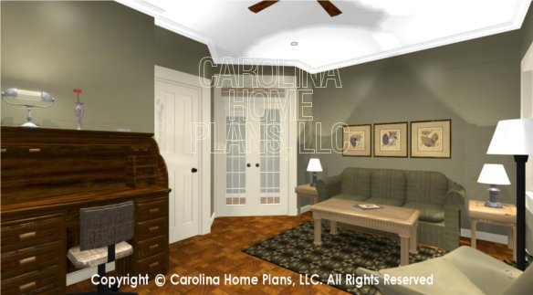 BS-1613-2621 3D Multi-room to French Doors