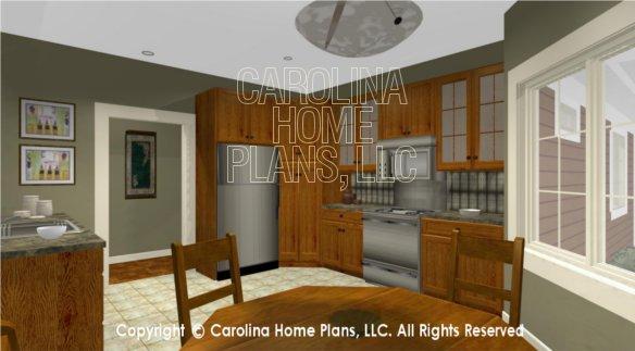 BS-1613-2621 3D Nook to Kitchen