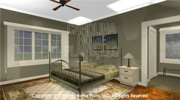 BS-1613-2621 3D Master Bedroom to Window