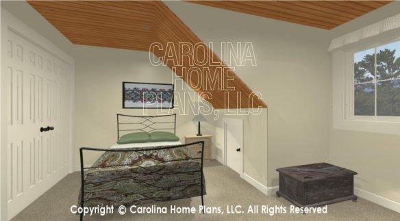 BS-1613-2621 3D Sleeping Loft Bedroom