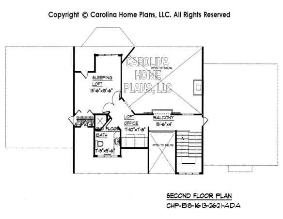 BS-1613-2621 2nd Floor Plan