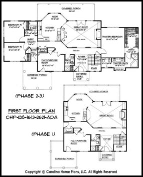 BS-1613-2621 First Floor Plan
