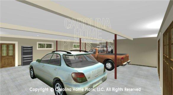 BS-1477-2715 3D Garage