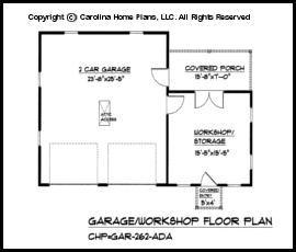 2 Car Garage Woodshop Plans