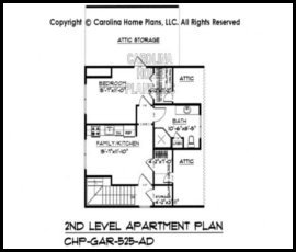 GAR-525 Floor Plan