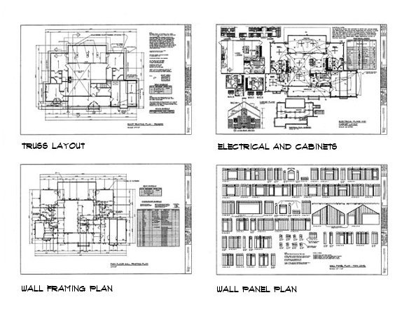house plan sample drawings 3 - Sample House Plans