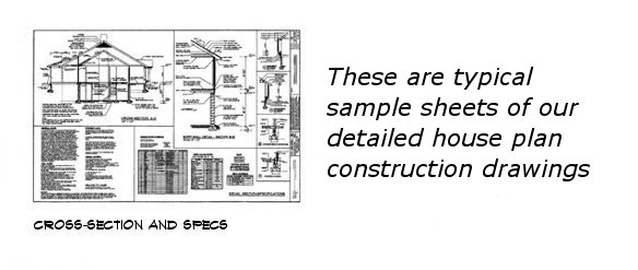 House plan sample drawings 4