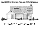 BS-1613-2621 House Plan At A Glance