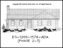 BS-1266-1574 House Plan At A Glance