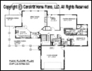 LG-3096 Floor Plan At A Glance