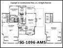 SG-1096 Floor Plan At A Glance