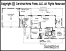 SG-1280-Garage Floor Plan At A Glance