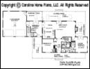 SG-1280-Garage Floor Plan At A Glance