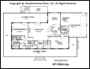 SP-3581 Floor Plan At A Glance