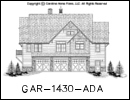 GAR-1430 House Plan At A Glance