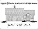 GAR-262 Garage Plan At A Glance