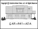 GAR-841 House Plan At A Glance