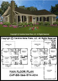 BS-1266-1574 Floor Plan-3D Images