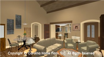 BS-1275-1595 Open Floor Plan