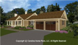BS-1084-1660 House Plan with Garage