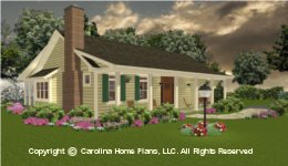BS-1266-1574 Small Lot House plan