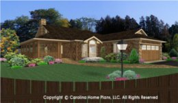 BS-1275-1595 House Plan with Basement