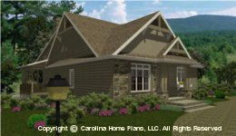 BS-1477-2715 House Plan with Garage