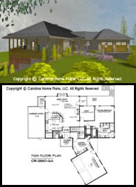 CR-2880 Floor Plan-3D Images