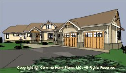 CRFT-2953 House Plan  Sq Ft