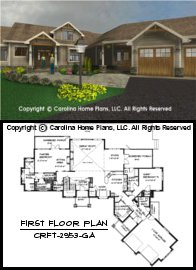 CRFT-2953 Floor Plan-3D Images