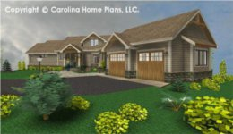 CRFT-2953 House Plan with Basement
