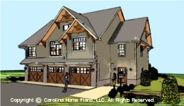 GAR-1430 Garage-Apartment Plan  Sq Ft
