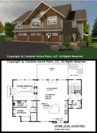 GAR-1430 Floor Plan-3D Images