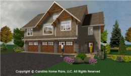 GAR-1430 House Plan with Garage