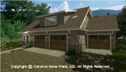 GAR-781 House Plan with Garage