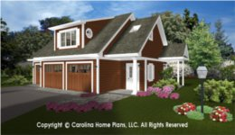 GAR-841 House Plan with Garage